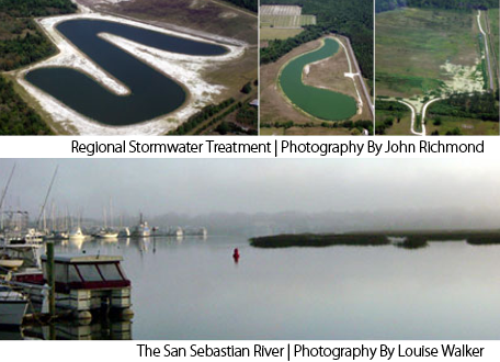Regional Storm Water Treatment Projects by John Richmond and The San Sebastian River by Louise Walker